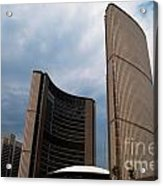 Toronto City Hall Acrylic Print