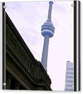 Toronto Cn Tower Canada Acrylic Print