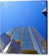 Toronto Financial Core Buildings Acrylic Print