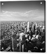 Toronto From Above Acrylic Print