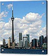 Toronto Skyline 10 Acrylic Print