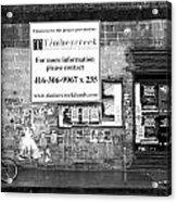 Toronto Streets Acrylic Print