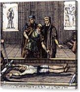 Torture, 16th Century Acrylic Print