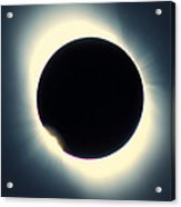 Total Solar Eclipse From Aruba, 26/02/1998 Acrylic Print by David Nunuk