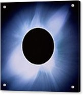 Total Solar Eclipse Acrylic Print by Rev. Ronald Royer