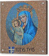 Totvs Tvvs - Jesus And Mary Acrylic Print