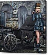 Tough Lady Acrylic Print