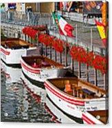 Tour Boats Acrylic Print