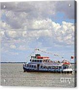 Touring Boat Acrylic Print