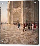 Touring Taj Acrylic Print