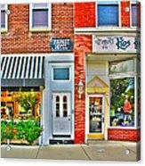 Tourist Hotel-downtown Perrysburg Acrylic Print