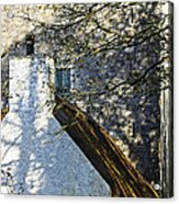 Tower And Thatch Acrylic Print