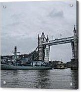Tower Bridge Open Acrylic Print