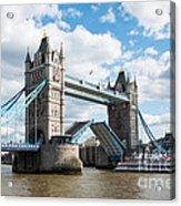 Tower Bridge Opening Acrylic Print
