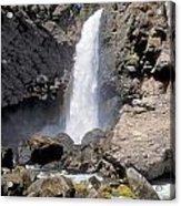 Tower Fall Of Yellowstone Acrylic Print