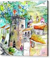 Tower in Ponte de Lima in Portugal Acrylic Print
