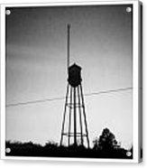 Tower- Jackson Street- Monroe Louisiana Acrylic Print