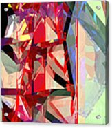 Tower Poly 12 Acrylic Print