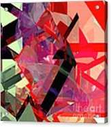 Tower Poly 14 Acrylic Print