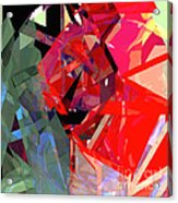 Tower Poly 15 Acrylic Print