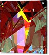 Tower Series 20 Night House Acrylic Print