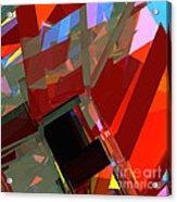 Tower Series 41 Mineshaft Acrylic Print