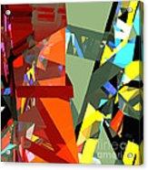 Tower Series 44 Tangerine Picnic Acrylic Print