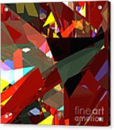 Tower Series 45 Angels And Demons Acrylic Print
