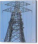 Towers And Lines Acrylic Print