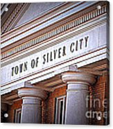 Town Of Silver City New Mexico Acrylic Print