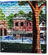 Town Wall Art Acrylic Print