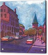 Town With Colors Acrylic Print