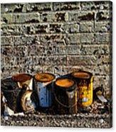 Toxic Alley Grunge Art Acrylic Print