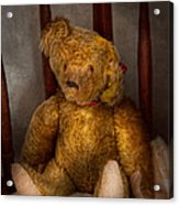 Toy - Teddy Bear - My Teddy Bear  Acrylic Print by Mike Savad
