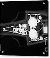Toy Car X-ray Acrylic Print