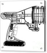 Toy Vortex Gun Acrylic Print