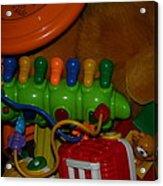 Toys Toys Toys Acrylic Print