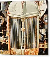 Tractor Face Acrylic Print