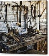 Trade Tools Acrylic Print