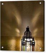 Traditional Lantern At Riad Dar Hanane Acrylic Print