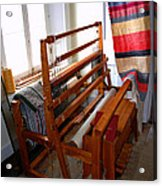 Traditional Weavers Loom Acrylic Print