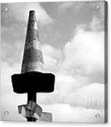 Traffic Cone Acrylic Print