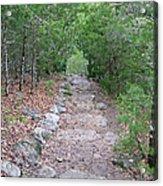 Trail To Peace Acrylic Print