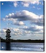 Trails And Towers Acrylic Print