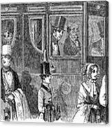 Train Travel: First Class Acrylic Print