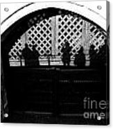 Traitors Gate And Ghostly Images  Acrylic Print