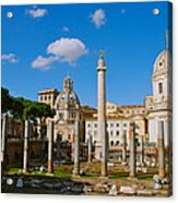 Trajan's Market Acrylic Print