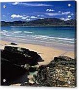 Tramore Strand And Loughros Mor Bay Acrylic Print