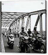 Trang Tien Bridge Hue Acrylic Print