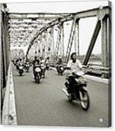 Trang Tien Bridge Acrylic Print